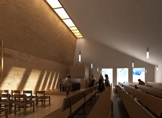 1. Rang: Innenraum © Bodamer Faber Architekten