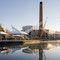 Energiezentrale (Kesselhaus, Turbinenhaus und Färberei) und Quest Seilnetzkonstruktion