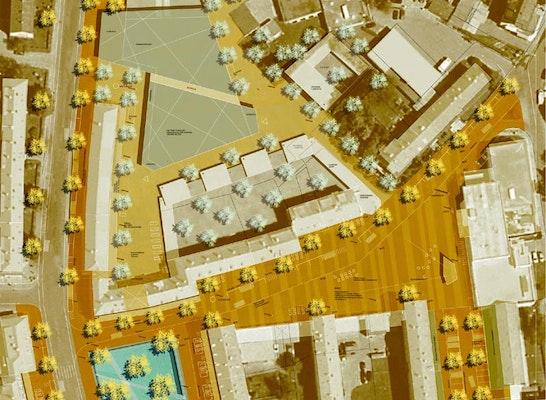 1. Preis Städtebauliche Planung
