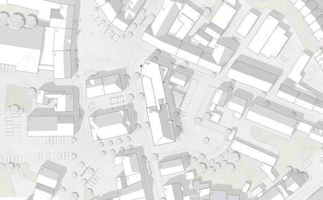 Umbau und Erweiterung des Rathauses in Olfen
