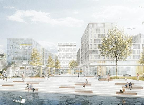 ein 1. Preis Zuschlag: Visualisierung Überarbeitung, © Schaudt Architekten