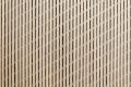 Detail Fassade mit diagonal gesetzter Unterkonstruktion