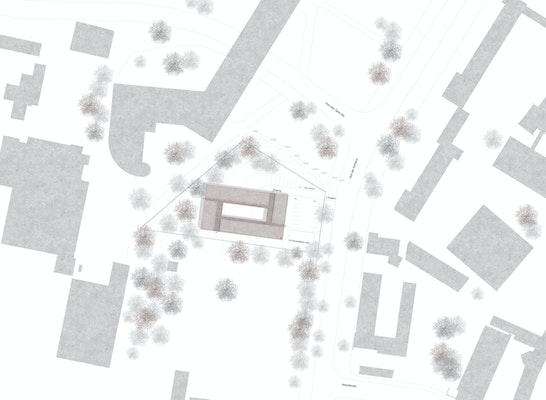 1. Preis: Lageplan, © DÖMGES ARCHITEKTEN AG