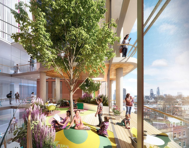 Redevelopment of Great Ormond Street Hospital for Children (Phase 4)