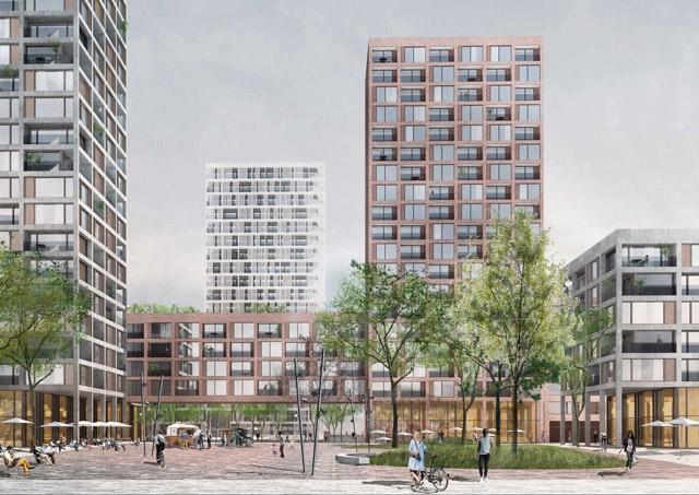 Neues Stadtquartier Gehrenseestraße in Berlin Lichtenberg
