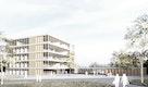 Wettbewerb Waldcampus Aalen 1.Preis, Entwurf Broghammer Jana Wohlleber Architekten, Visualisierung LINK3D Freiburg