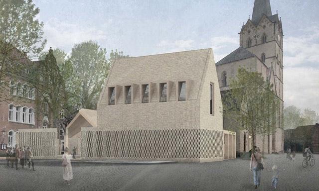 """Museumsneubau """"Archäologisches Fenster am Münster"""" in Herford"""