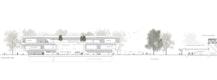 Forum Königsbrunn: Schnitt mit Anschnitt Umbau Eishalle