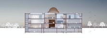 Querschnitt © Architekten von Gerkan, Marg und Partner
