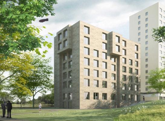 Neubau Wohnheim am Luftschiffhafen Potsdam HINRICHS WILKENING ARCHITEKTEN, fd-ingenieure