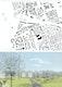 Schwarzplan und Perspektive / Blick von Nordsten