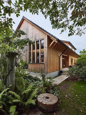 Holzbaupreis   Kategorie Einfamilienhaus: Gartenhaus Winkler, Hohengasser Wirnsberger Architekten ztgmbh, Holzbau Tschabitscher GmbH, Gartenhaus, © Johannes Puch