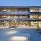Eines der drei mit dem Architekturpreis Daidalos ausgezeichneten Projekte: Schul- und Kulturzentrum Feldkirchen an der Donau.
