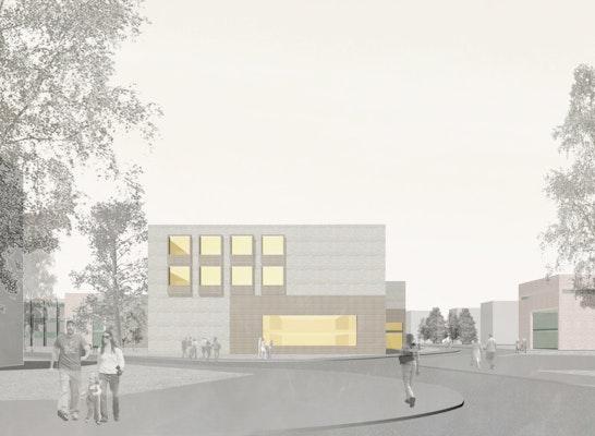 Blick von der Rothenhäuser Straße | Reimar Herbst / Angelika Kunkler