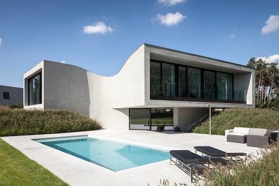 1. Preis: Villa MQ, OOA   OFFICE O ARCHITECTS, © Tim Van de Velde