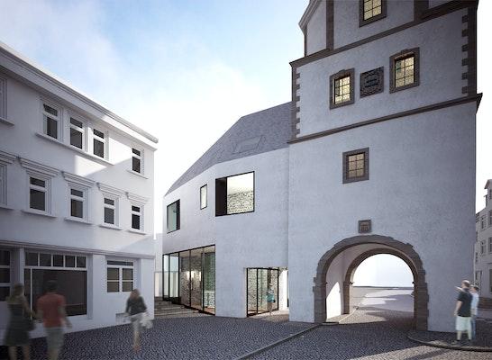 1. Preis: Ansicht Mauergasse, © steimle architekten