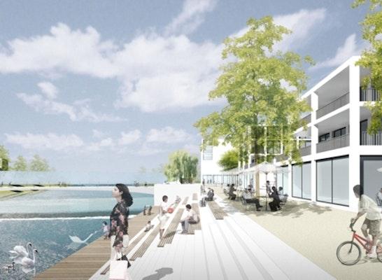 1. Preis: 1. Preis: Thomas Schüler Architekten und Stadtplaner; faktorgruen Landschaftsarchitekten