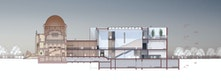 Langschnitt © Architekten von Gerkan, Marg und Partner