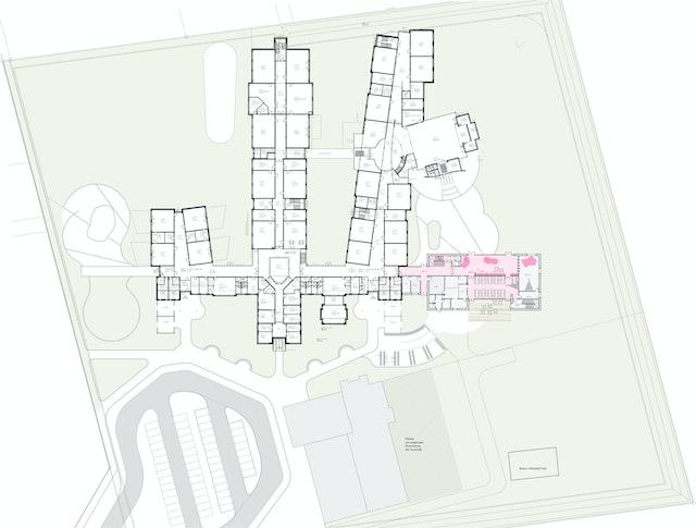 Erweiterung des Gymnasiums mit Bau einer Mensa und eines G-9 Gebäudes in Sottrum
