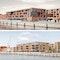 oben 1. Preis Baufeld 3A: Architekten BKSP, Hannover unten; 1. Preis Baufeld 5B: petersen pörksen partner architekten | stadtplaner, Lübeck, Hamburg