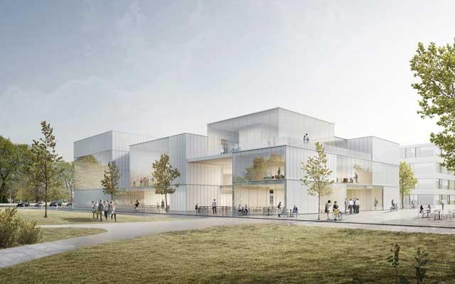 Neubau Betriebsrestaurant mit Konferenzzentrum für das DLR in Oberpfaffenhofen