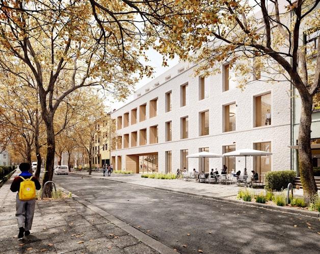 Ersatzneubau für die Zentralmensa, ein Servicezentrum und studentisches Wohnen in Bonn
