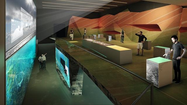 Ausstellungsplanung Helgoland – Bluehouse