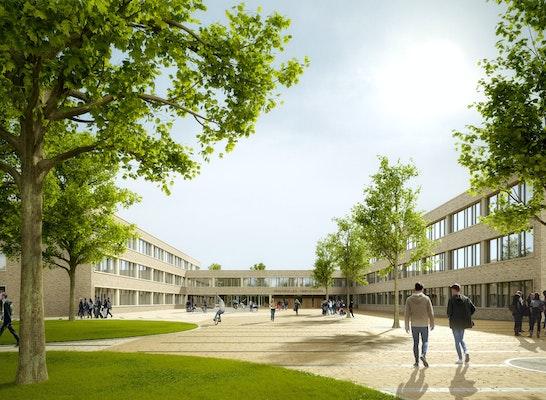 ein 1. Preis: © farwick + grote Architekten BDA Stadtplaner