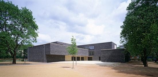 2. Preis: Erweiterung der Gelehrtenschule des Johanneums - Forum Johanneum, Andreas Heller Architects & Designers, WES LandschaftsArchitektur  Schatz Betz Kaschke Wehberg-Krafft Rödding, © Werner Huthmacher