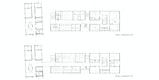 Grundrisse 1. Obergeschoss, 2. Obergeschoss M 1:200