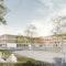 3. Preis Wettbewerb Neubau Staudinger Gesamtschule Freiburg; Visualisierung von LINK3D Freiburg