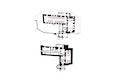 Schlossgebäude Grundriss Ebene -1 und Ebene 0