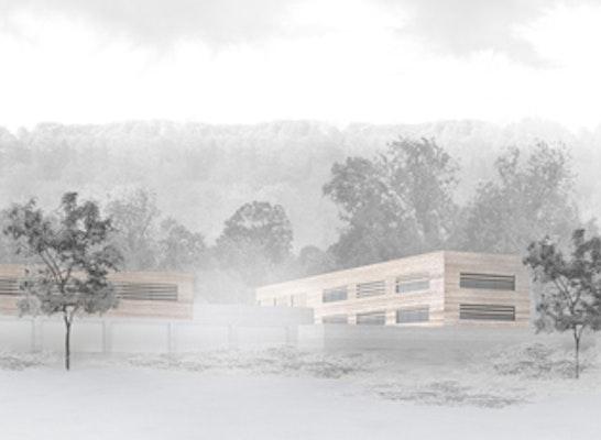 Gartenbetriebshof Kassel - Perspektive ATELIER 30 Architekten
