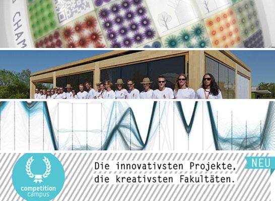 Preis: 3 Projekte gewinnen je eine Doppelseite zur Darstellung ihres Projektes und ihrer Fakultät im Magazin competition