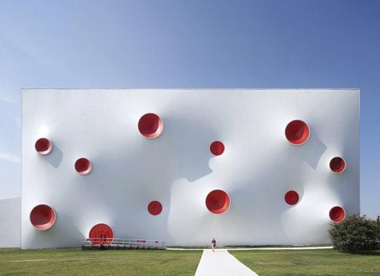 Auszeichnung: London 2012 Olympische und Paralympische Arenen für Sportschießen, magma architecture