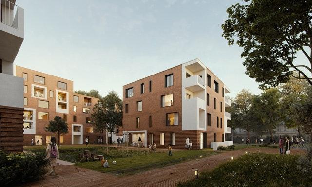 Kostengünstiger Wohnungsbau am Standort Georg-Wilhelm-Straße 121 in Hamburg