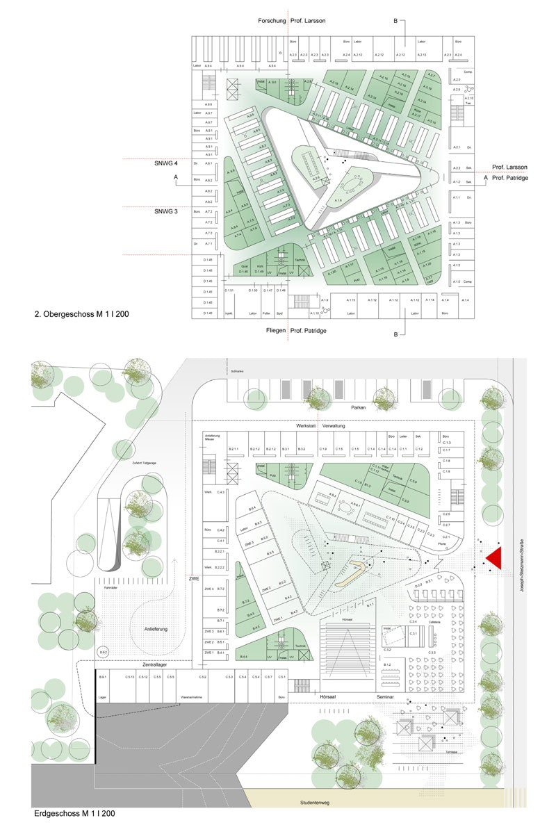 Ergebnis: Neubau Institutsgebäude mit molekular-bio ...