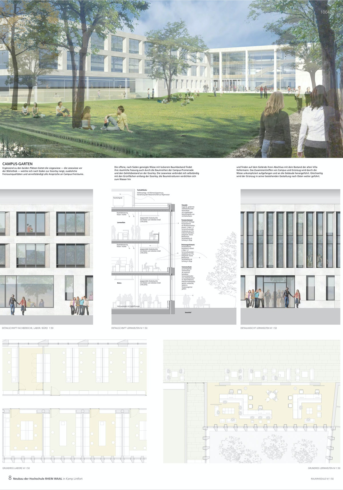 Ergebnis: Neubau der Hochschule Rhein-Waal - General...competitionline