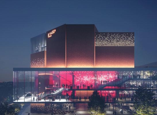 ein 1. Preis Zuschlag: © Entwurf nach Überarbeitung / Architektur HENN / Visualisierungen MIR