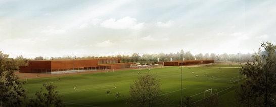 Entwurf Sportpark Unterföhring