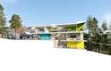 Schnittperspektive eins:eins architekten / moka studio