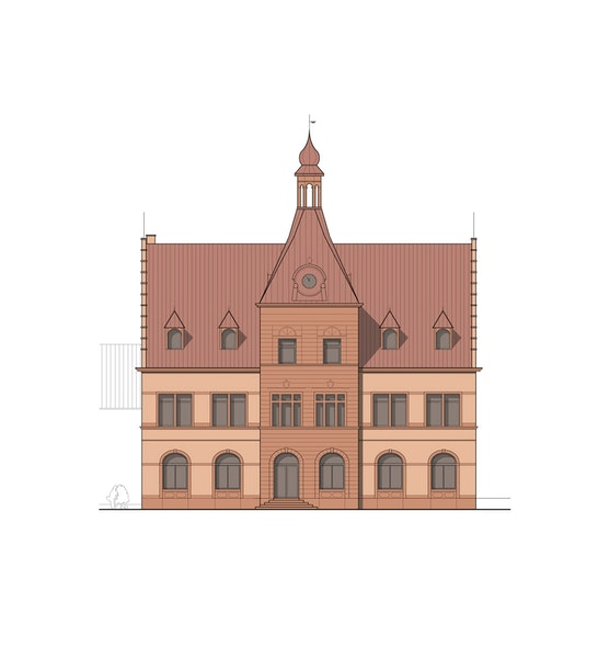 Ansicht Rathaus