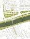 Lageplan.Vertiefungsbereich West M 1:500