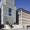 HKIC, Blick vom Adolphsplatz aus HKIC und Deutsche Bank