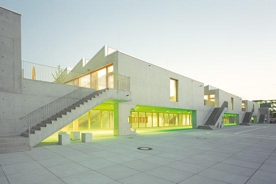 DAM Preis 2014: Grundschule am Arnulfpark, Hess / Talhof / Kusmierz Architekten und Stadtplaner, Landeshauptstadt München, © Florian Holzherr