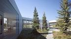 "Carraig Ridge - ""O"" House - courtyard perspective"