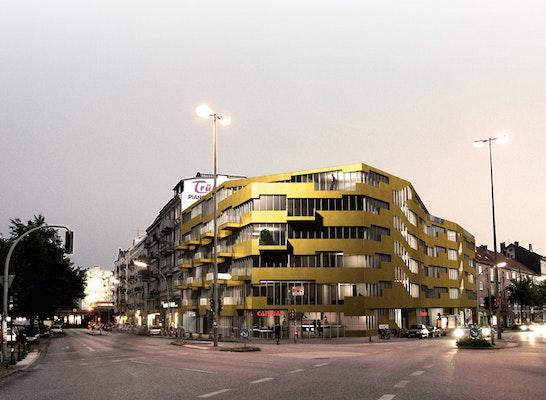 Ansicht Altonaer Strasse / Schanzenstrasse