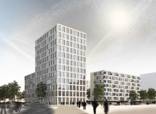Wettbewerbsperspektive: M. Link, Digitale Architektur Freiburg
