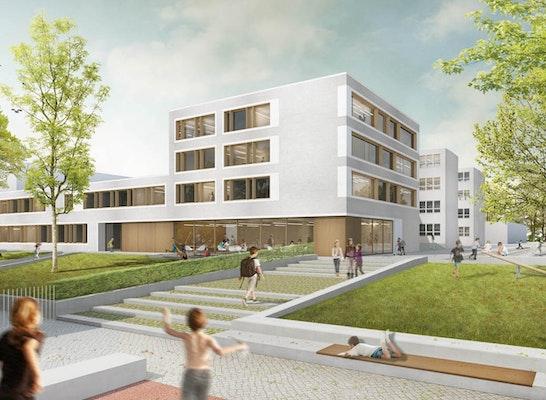 1. Preis: © TRU Architekten / Holzwarth Landschaftsarchitektur