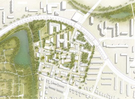 Gewinner: (C) DeZwartehond. | RMP Stephan Lentzen Landschaftsarchitekten